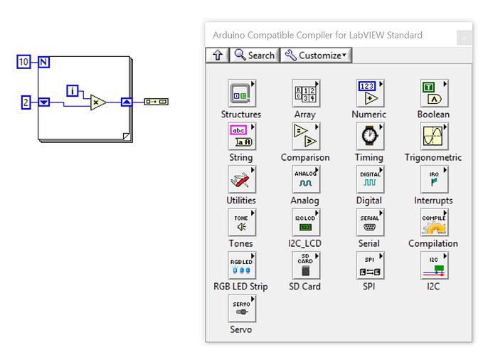 use labview to program arduino  - electronics
