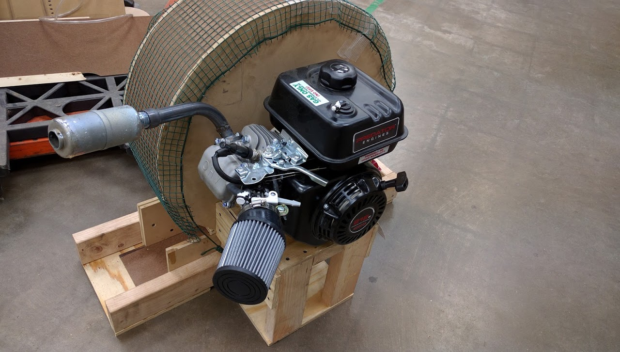 Group Project - Small Engine Rebuild / Blower / Hovercraft