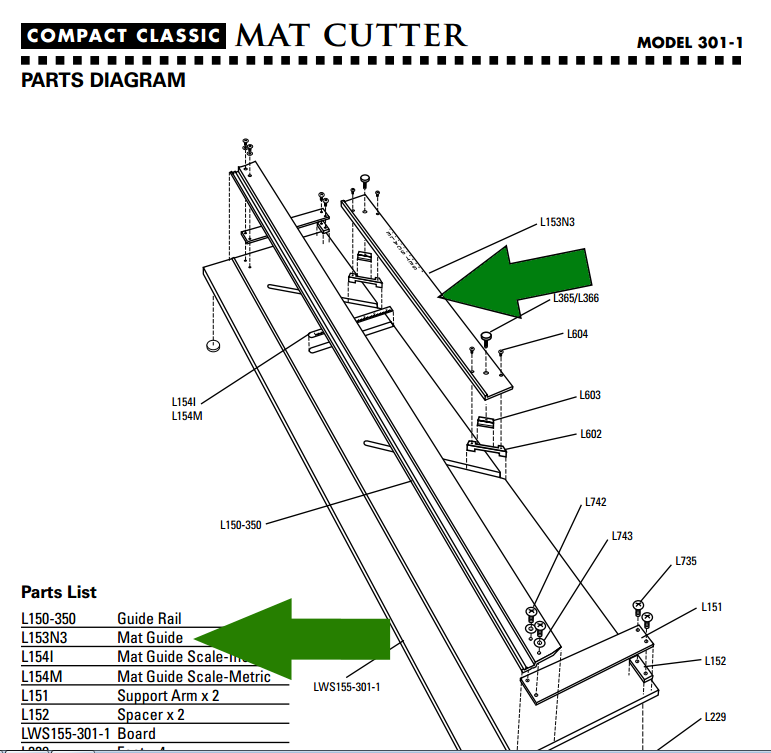 Logan Mat Cutting Guide Location - Creative Arts - Dallas Makerspace ...