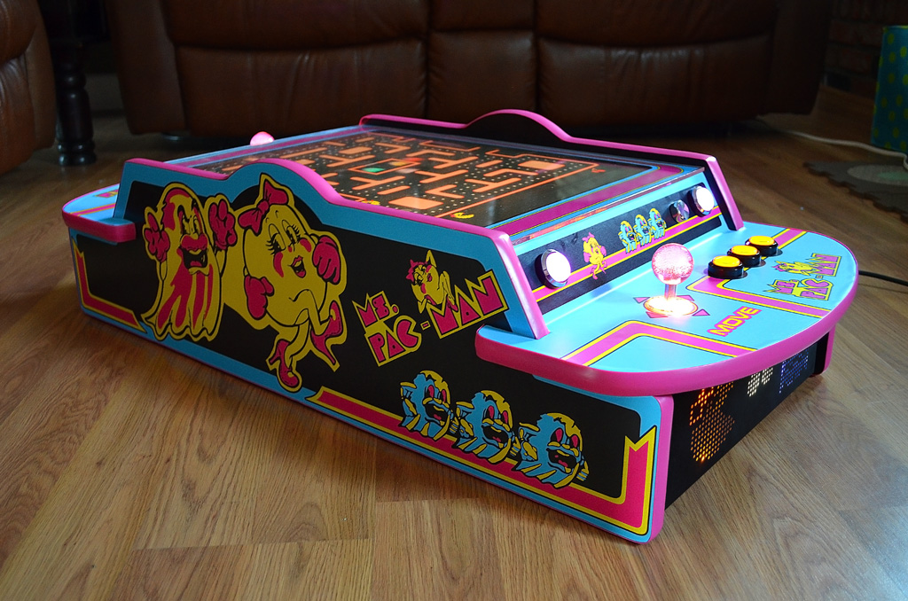 Let's build a bartop arcade (was: donate donate lcd for ...