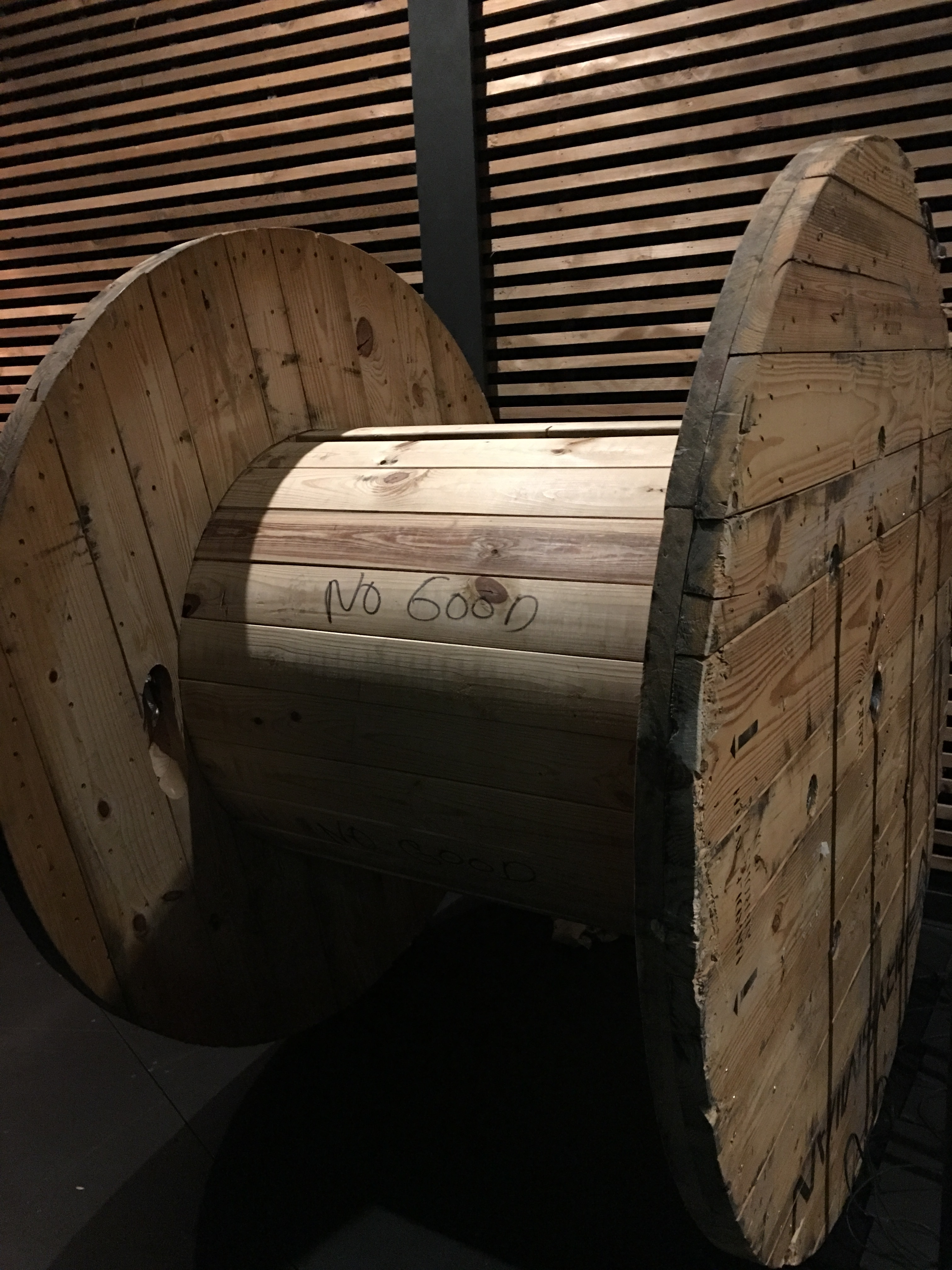 Gone Giant Wooden Spools Free Makertrade Dallas Makerspace Talk